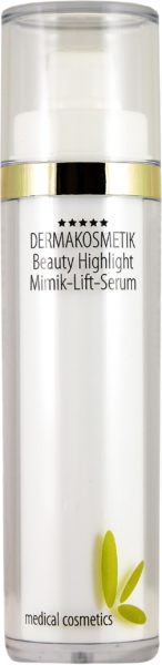 eauty Highlight Mimik Lift Serum 50ml im doppelw. Airless mit Goldring