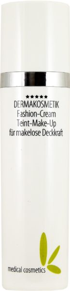 Fashion-Cream Teint-Make-Up im 50ml edlen weißen Airlessspender