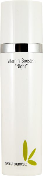 "Dermakosmetik Vitamin-Booster ""Night"" 50ml im klaren doppelw. Airlessspend"